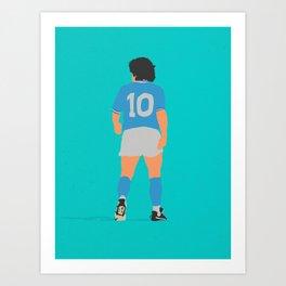 Maradona Art Print