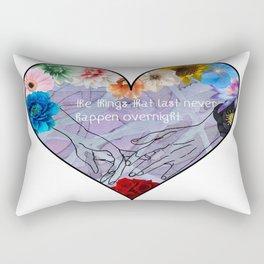 Slightest Touch Rectangular Pillow