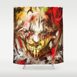 Carnival of Rust Shower Curtain