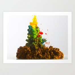 Colors Alive Art Print