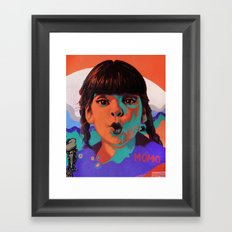 Glups! Framed Art Print
