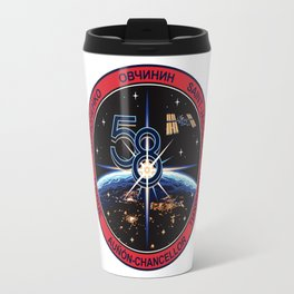 Expedition 58 Orignal Crew Patch Travel Mug