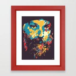 Osho Framed Art Print