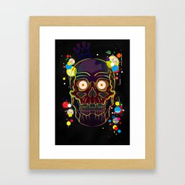 Square Eyes Framed Art Print
