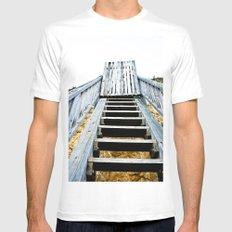 Stairway (2) Mens Fitted Tee White MEDIUM