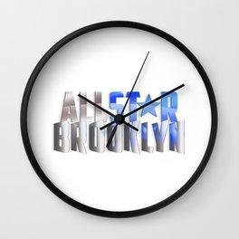 All-Star Brooklyn Wall Clock