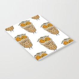 Crazy Owl Notebook