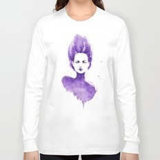 Purple Water Faery Long Sleeve T-shirt