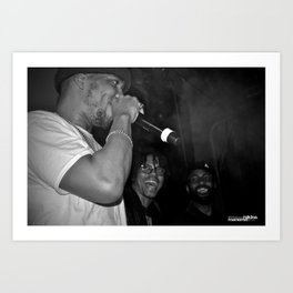 Live from New Jet City: Curren$y, Lupe Fiasco & Mickey Factz Art Print