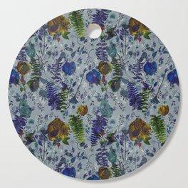 Bleu Foliage Cutting Board