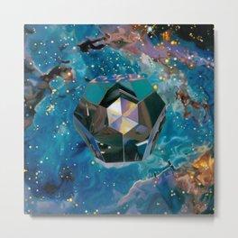 Dodecahedron Metal Print