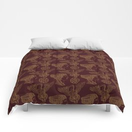 Empire Style Pattern Comforters
