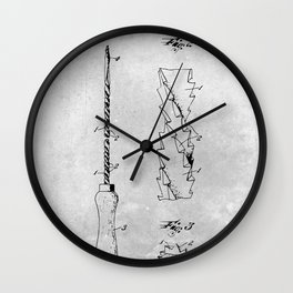 Tool for woodwork Wall Clock