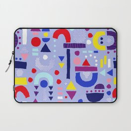 Tiny Inventor - Purple Sailor Laptop Sleeve