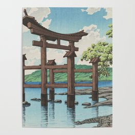 Japanese Traditional Torii Poster