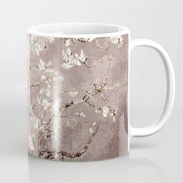 Van Gogh Almond Blossoms Beige Taupe Coffee Mug