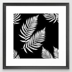 Fern Pattern Framed Art Print