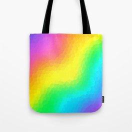 Magical Rainbow Gradient Dragon Scales! Tote Bag