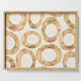 Large Circles (Ivory) Serving Tray