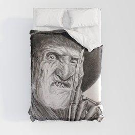 Freddy krueger nightmare on elm street Duvet Cover