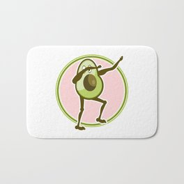 Avocado Dabbing Bath Mat