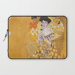 Gustav Klimt - Portrait of Adelle Bloch Bauer Laptop Sleeve