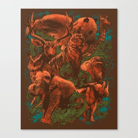 Kingdom Animalia Canvas Print