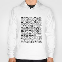 movies Hoodies featuring We love movies by Pinfloi