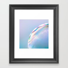Surface*pastel Framed Art Print
