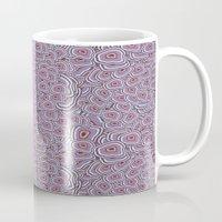 agate Mugs featuring agate  by kociara