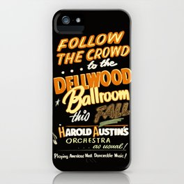 Dellwood Ballroom iPhone Case