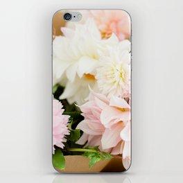 Dahlia Bouquet iPhone Skin