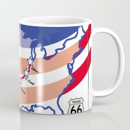 Route66 Mother Road Coffee Mug