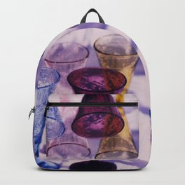 Wine Glass Photographic Pattern #1 Backpack