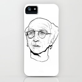 Larry David iPhone Case