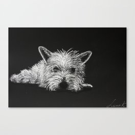 Lily Pooh Canvas Print