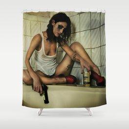 Scorned woman Shower Curtain