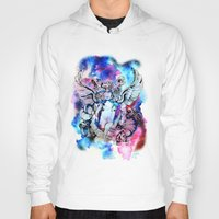 marc johns Hoodies featuring Marc Bolan - Cosmic Dancer by FlowerMoon Studio