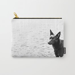 Australian kelpie, Australian sheep dog Carry-All Pouch