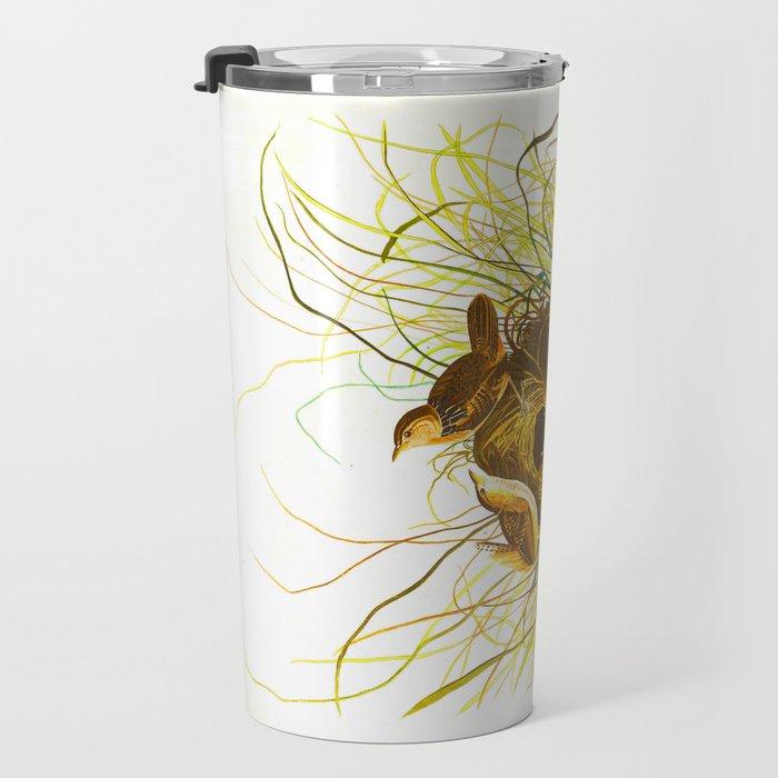 Nuttall's lesser-marsh Wren Travel Mug