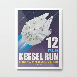Kessel Run Metal Print