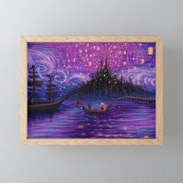 The Lantern Scene Framed Mini Art Print