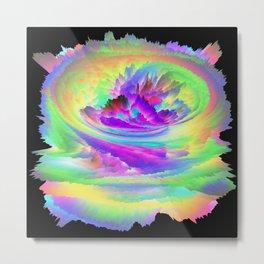Color Storm Metal Print