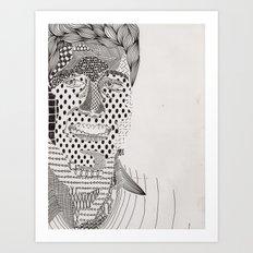 Ders Art Print