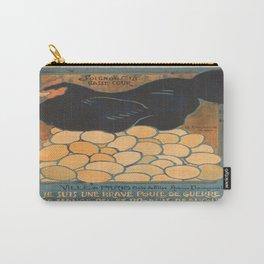 Vintage poster - I am a Fine War Hen Carry-All Pouch