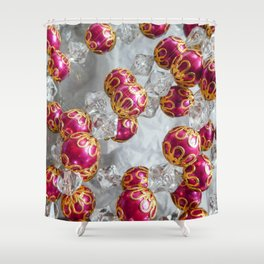 Holiday Sparkle Shower Curtain