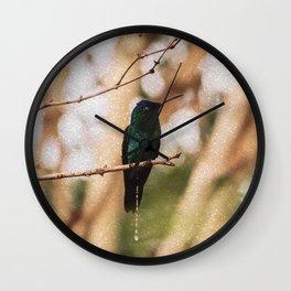 Bird - Photography Paper Effect 007 Wall Clock