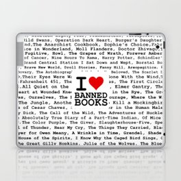 I Heart Banned Books Laptop & iPad Skin