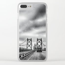 Interstate 74 Bridge - IL/IA Clear iPhone Case