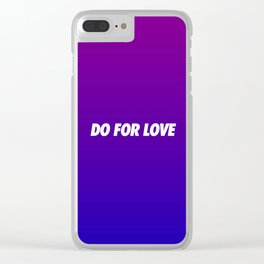 #TBT - DOFORLOVE Clear iPhone Case